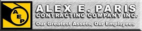 Alex E. Paris Contracting Company, Inc. company logo