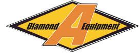 Diamond A. Equipment company logo