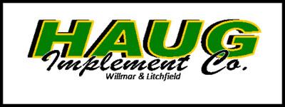 Haug Implement company logo