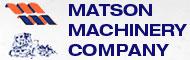 Matson Machinery company logo