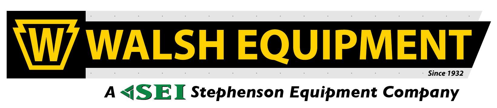 Walsh Equipment / A Stephenson Equipment Company company logo